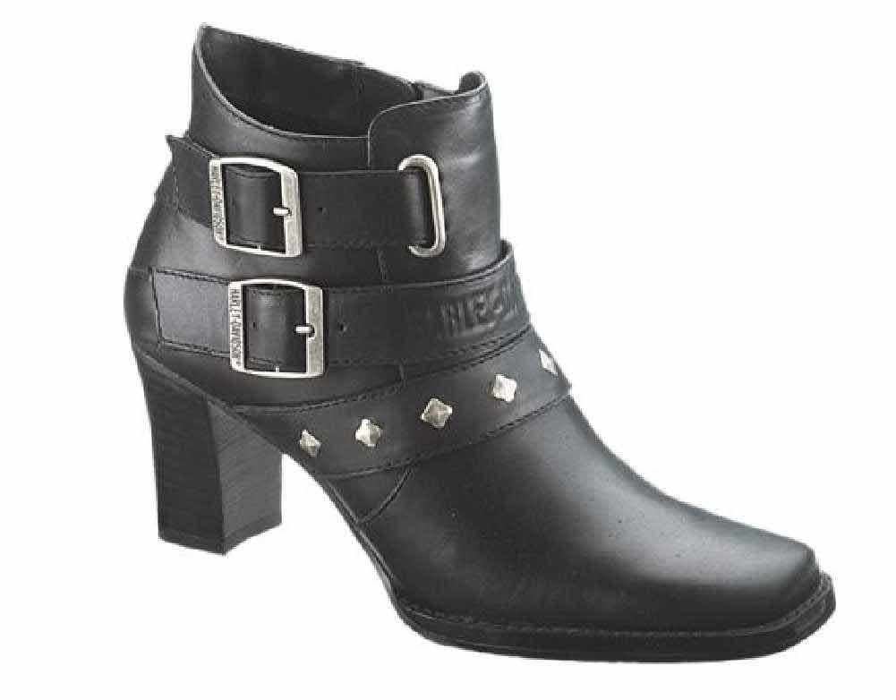 a24e0f469659 Harley-Davidson® Women s Bridgit Shootie Black 4-Inch Boots