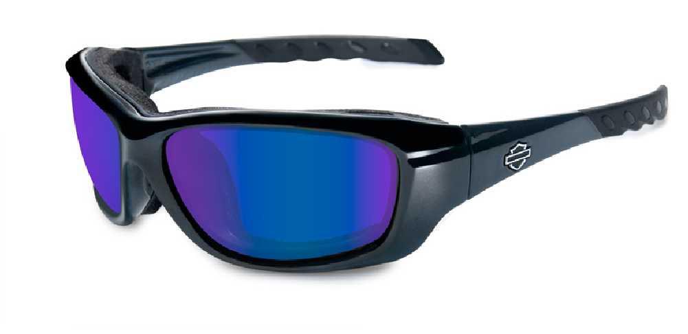 ea3f6e5734d0 Harley-Davidson Gravity Pol Blue Lens w  Black Crystal Frame Sunglasses  HDGRA04 - Wisconsin