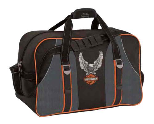 Harley-Davidson Carry-All Bag, Up-Wing Eagle Bar & Shield Logo, Black 99305 - Wisconsin Harley-Davidson