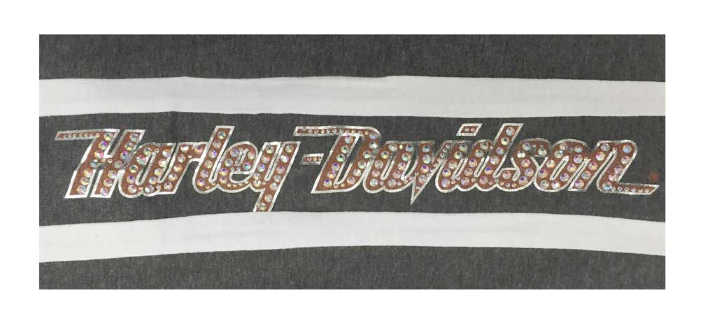 7c16ad7f650a1b Harley-Davidson® Women's Activewear Sweatpants, Rhinestone H-D, Gray ...
