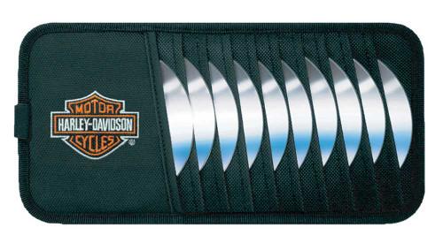 Harley-Davidson Bar & Shield CD Visor Organizer P6302 - Wisconsin Harley-Davidson