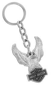 Harley-Davidson Eagle Bar & Shield Key Chain HDKD102 - Wisconsin Harley-Davidson