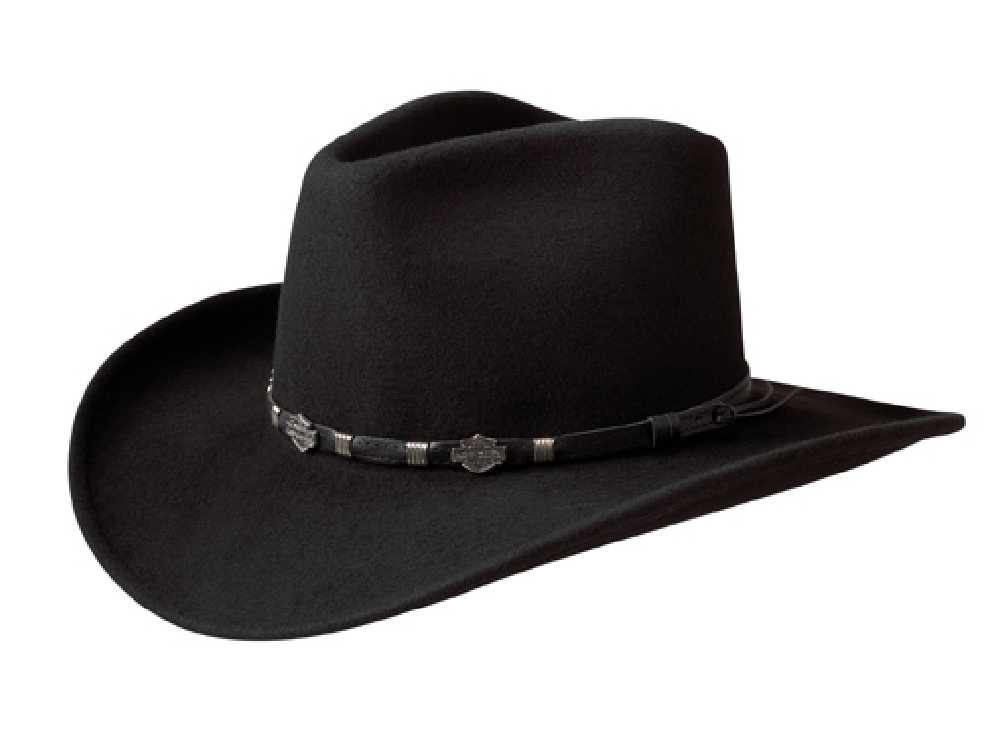 823248806d3 ... Harley-Davidson Men s Crushable Wool Cowboy Western Hat HD. See 1 more  picture