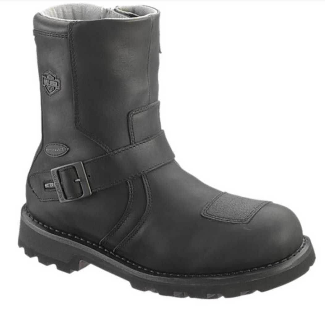 6df858ca5e59 Harley-Davidson Men s Blaine Waterproof 8-Inch Leather Motorcycle Boots.  D96037 - Wisconsin. Click to enlarge