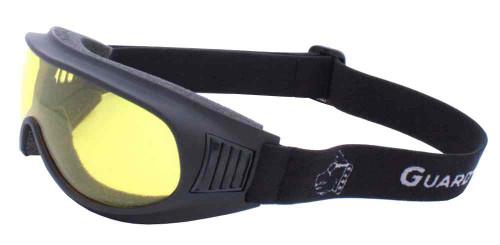 Guard-Dogs Commander I Motorcycle Dry Eye Goggles, Golden Lens, Black 050-13-01 - Wisconsin Harley-Davidson