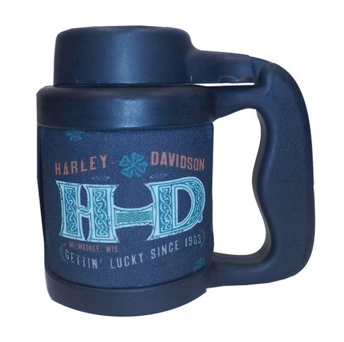 Harley-Davidson Can Stein, Celtic H-D, Plastic & Neoprene, Black CT115930 - Wisconsin Harley-Davidson