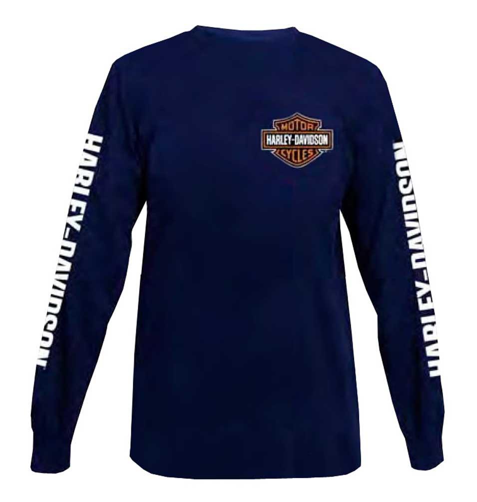 Harley-Davidson® Men s Classic Bar   Shield Long Sleeve T-Shirt ... 177ec91cb0d