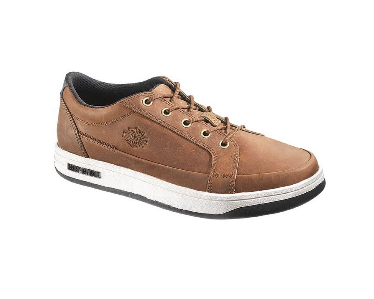 664486d21e38 Harley-Davidson® Men s Jez Skate Shoes. Black or Brown. D93133 D93134 -  Wisconsin Harley-Davidson