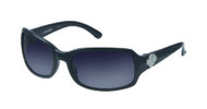 Harley-Davidson Womens Sun Lifestyle Grey w/ Grey Lens Sunglasses HDS5007GRY-35 - Wisconsin Harley-Davidson
