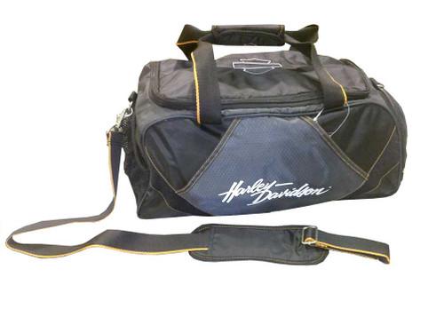 Harley-Davidson 20'' Black Carry-On Sport Bag Duffel 99603 - Wisconsin Harley-Davidson