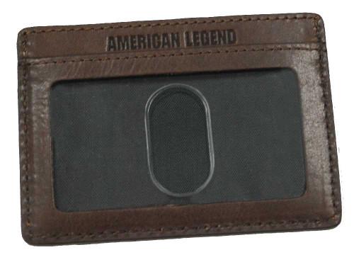 Harley-Davidson 110th Anniversary Front Pocket Wallet Leather AM1198L-Brown - Wisconsin Harley-Davidson