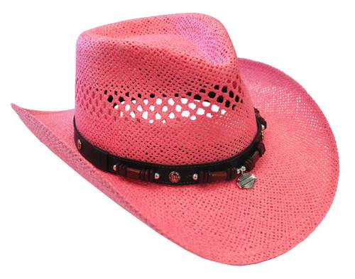 e509c0ba8839a Harley-Davidson® Women s Soft Toyo Straw Vented Hat HD-755 - Wisconsin  Harley-Davidson