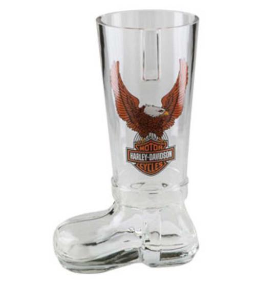 Harley-Davidson Bar & Shield Eagle German Glass Boot HDL-18727 - Wisconsin Harley-Davidson