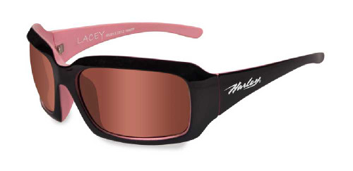 Harley-Davidon Lacey Pink Lens w/ Cotton Candy Frame Sunglasses HDLAC03 - Wisconsin Harley-Davidson