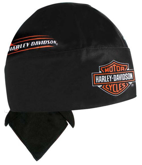 Harley-Davidson Body Work Bar & Shield Black Head Wrap HW132330 - Wisconsin Harley-Davidson