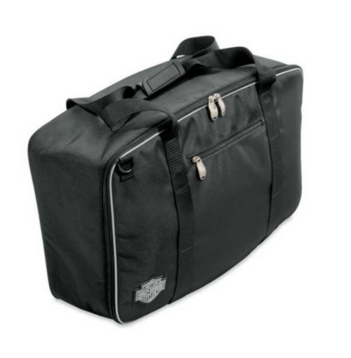 Harley-Davidson Bar & Shield Zippered Premium Travel-Pak Bag Black 93300071 - Wisconsin Harley-Davidson