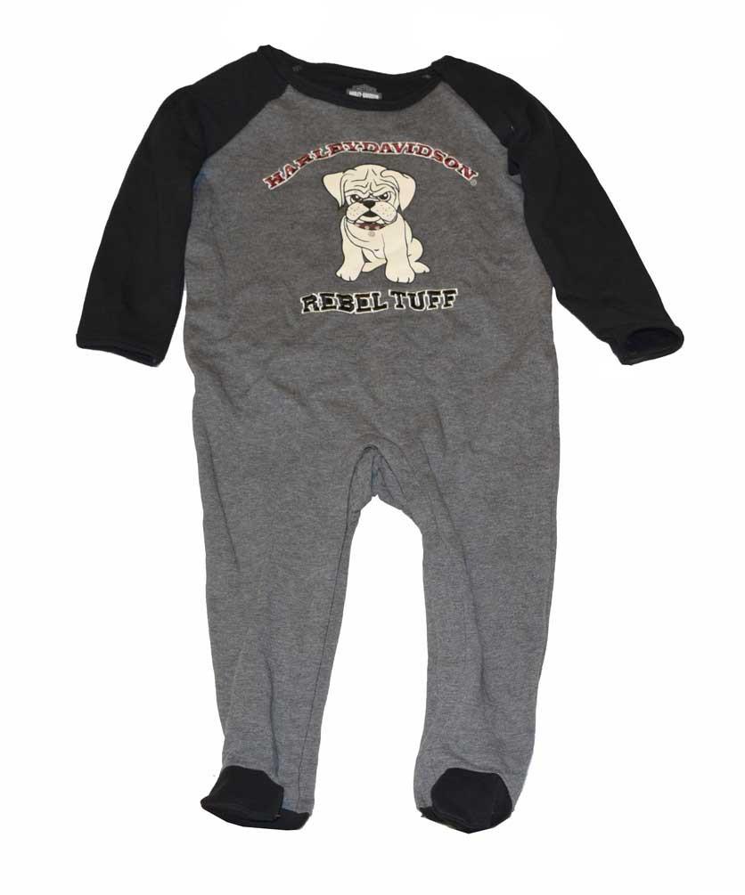 9e1a05fc0 Harley-Davidson® Baby Boys  Footie Fleece Coverall