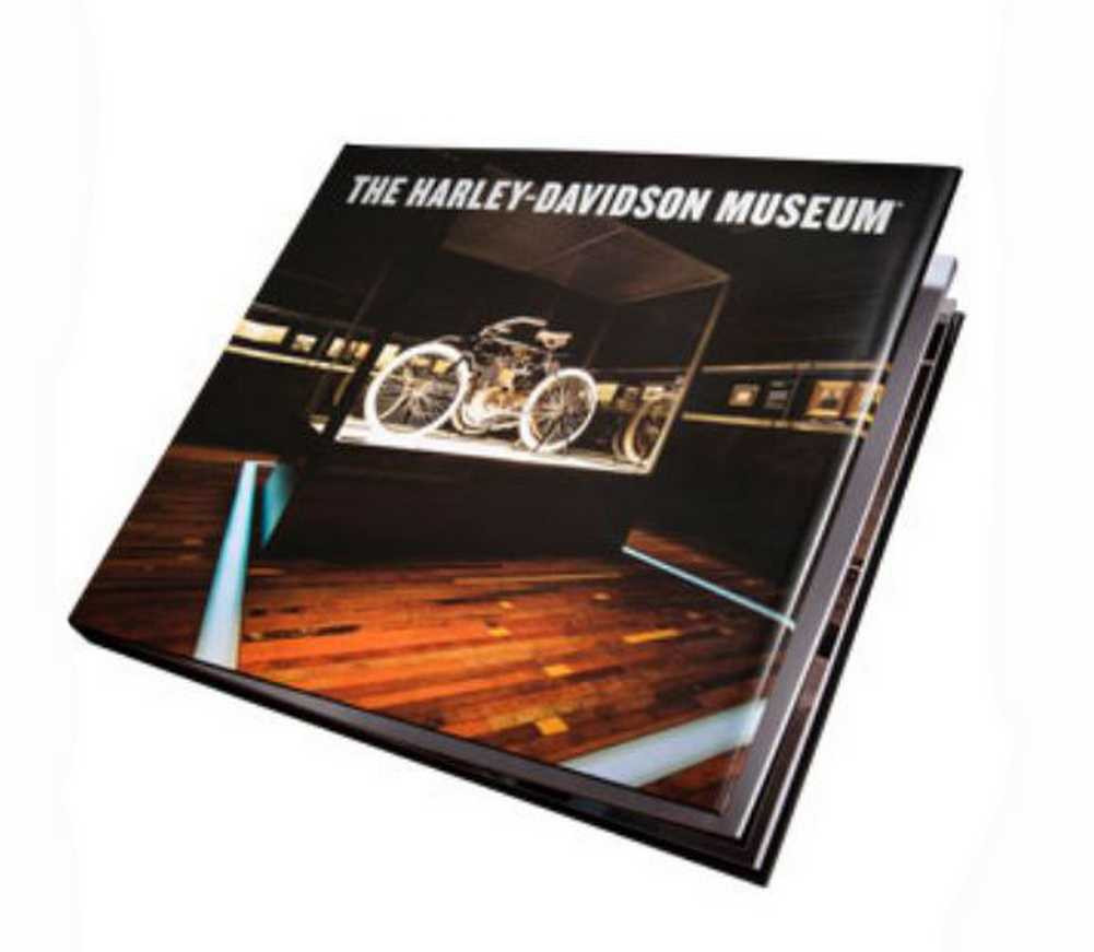 Harley-Davidson® Museum Book, Amazing Overview of the Famous Museum HDBK-MUS