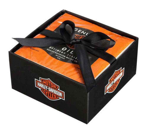 Harley-Davidson Beverage Napkin Oil Can Tailgate Rally Party Pack, P5514900RF - Wisconsin Harley-Davidson