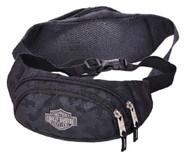 Harley-Davidson Bar & Shield Zippered Adjustable Hip Pack, Nightvision 99212 - Wisconsin Harley-Davidson