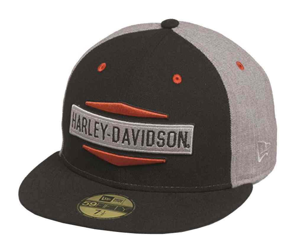 ... Harley-Davidson Men s Embroidered Logo 59FIFTY Flat Brim Cap. See 1  more picture a2a32679fd01
