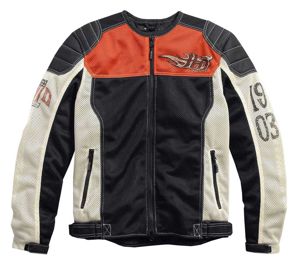 e12e06bee0bbd6 ... Harley-Davidson Men's Colorblocked Mesh Riding Functional Jacket 97125.  See 1 more picture