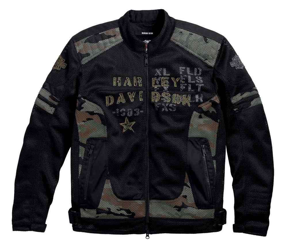971f6af8e0ca1 Harley-Davidson® Men's Midville Functional Mesh Riding Jacket, Camo ...