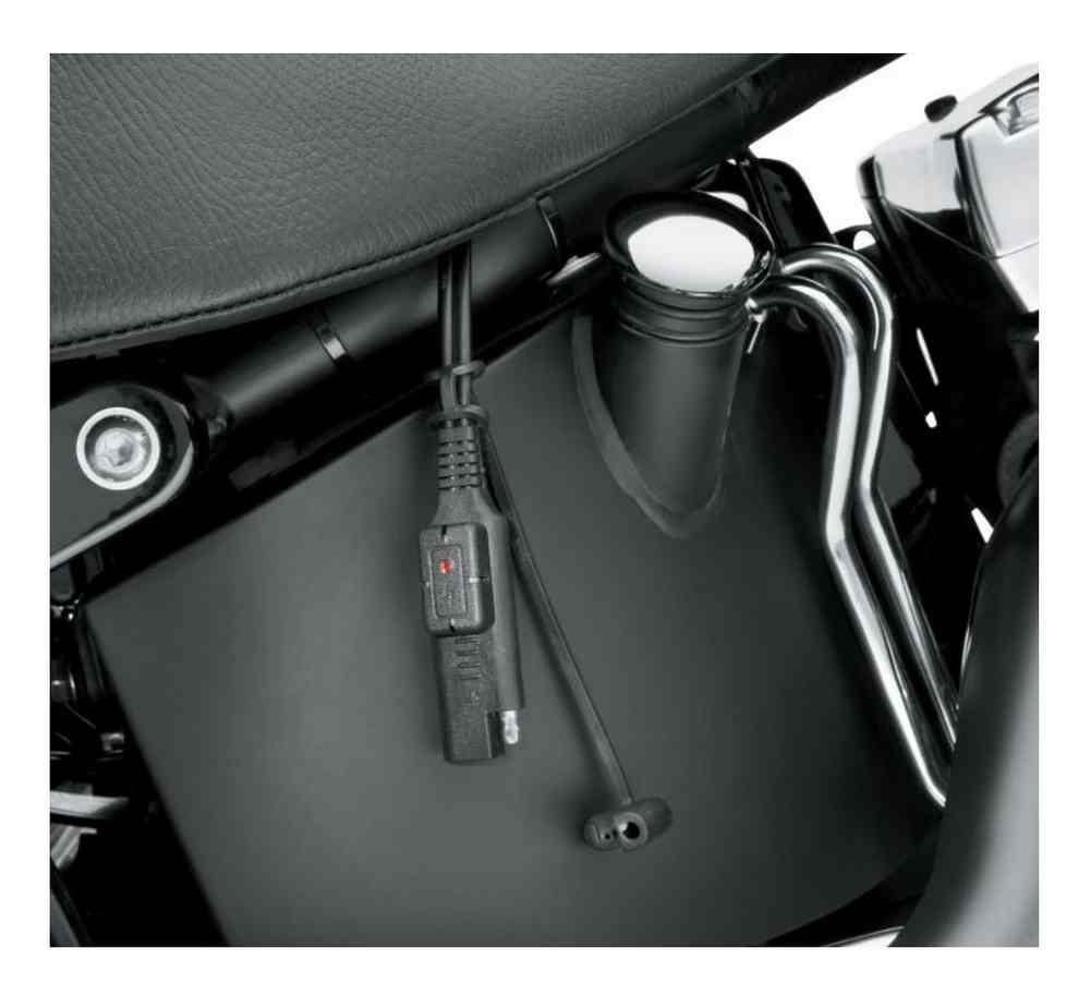 Harley-Davidson® LED Indicator Battery Charging Harness, Universal on