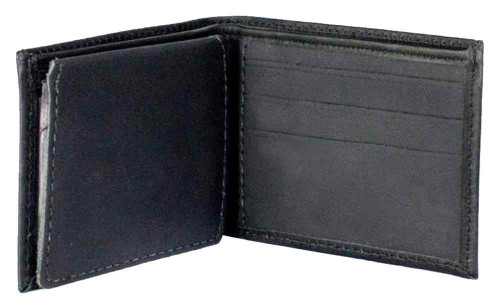 Genuine Leather Men's Embossed Eagle Distressed Leather Billfold Wallet DB313-40 - Wisconsin Harley-Davidson