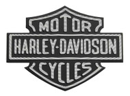 Harley-Davidson Metal Adhesive-Backed Bar & Shield Logo Medallion 99352-82Z - Wisconsin Harley-Davidson