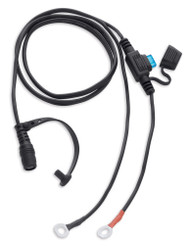 Harley-Davidson Replacement One-Touch Battery Harness, Fuse Included 98397-16VR - Wisconsin Harley-Davidson