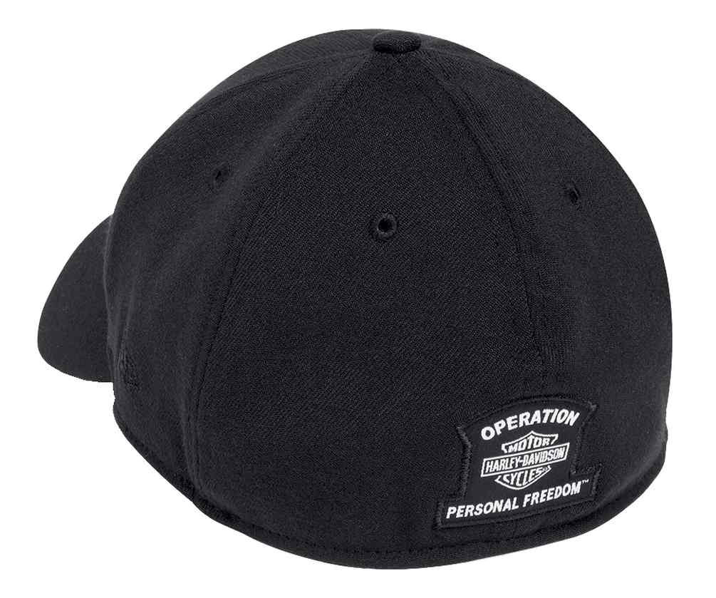 4f0c404ecb438 ... Harley-Davidson Men s Wounded Warrior Project 39THIRTY Cap