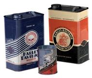 Harley-Davidson Storage Canister Set, Garage Inspired Shapes, Set of 3 HDL-18560 - Wisconsin Harley-Davidson