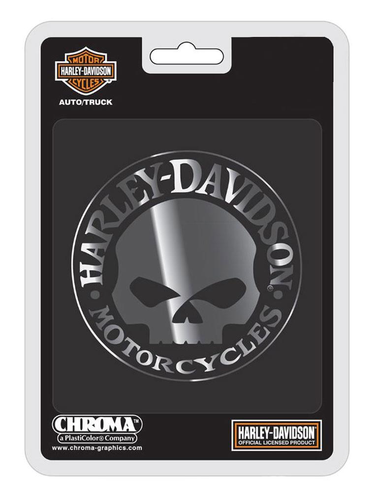 Harley-Davidson 3D Colored Bar And Shield Emblem Matte Black Metal License Frame