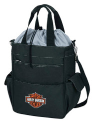 Harley-Davidson Activo Insulated Cooler Tote, Bar & Shield Logo, Black 614-00 - Wisconsin Harley-Davidson