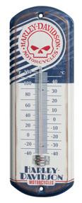 Harley-Davidson Retro Willie G Skull Mini Thermometer, 4.125 x 12 inch HDL-10099 - Wisconsin Harley-Davidson