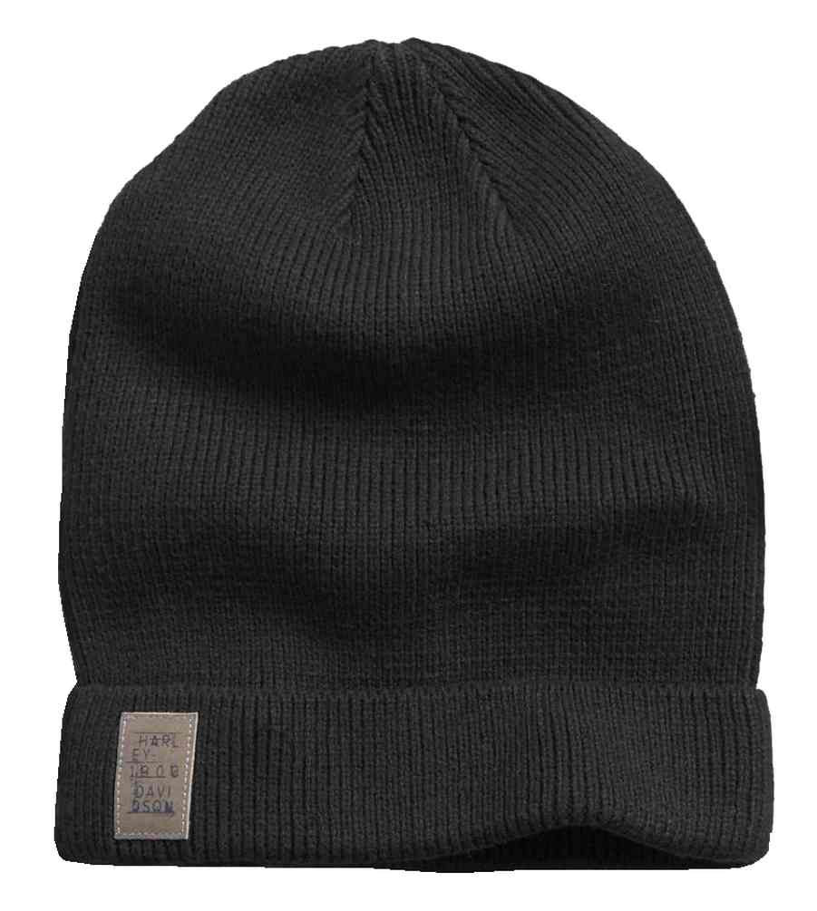 43020581552 Harley-Davidson® Men s Cuffed Slouch   Loose Knit Beanie Hat