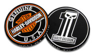 Harley-Davidson Long Tooth #1 Skull Challenge Coin, 1.75 in Coin, Black 8005023 - Wisconsin Harley-Davidson