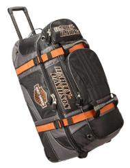 "Harley-Davidson Bar & Shield Logo 22"" Carry-On Wheeling Duffel Bag 99415-BLACK - Wisconsin Harley-Davidson"