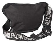 Harley-Davidson Bar & Shield Logo Belt Bag, Water-Resistant 99426-BLACK - Wisconsin Harley-Davidson