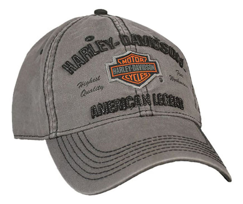 Harley-Davidson® Men s Embroidered Bar   Shield Baseball Cap ... c39a7d11c2f8