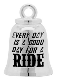 Harley-Davidson Good Day For A Ride Ride Bell, Sterling Silver, Silver HRB077 - Wisconsin Harley-Davidson