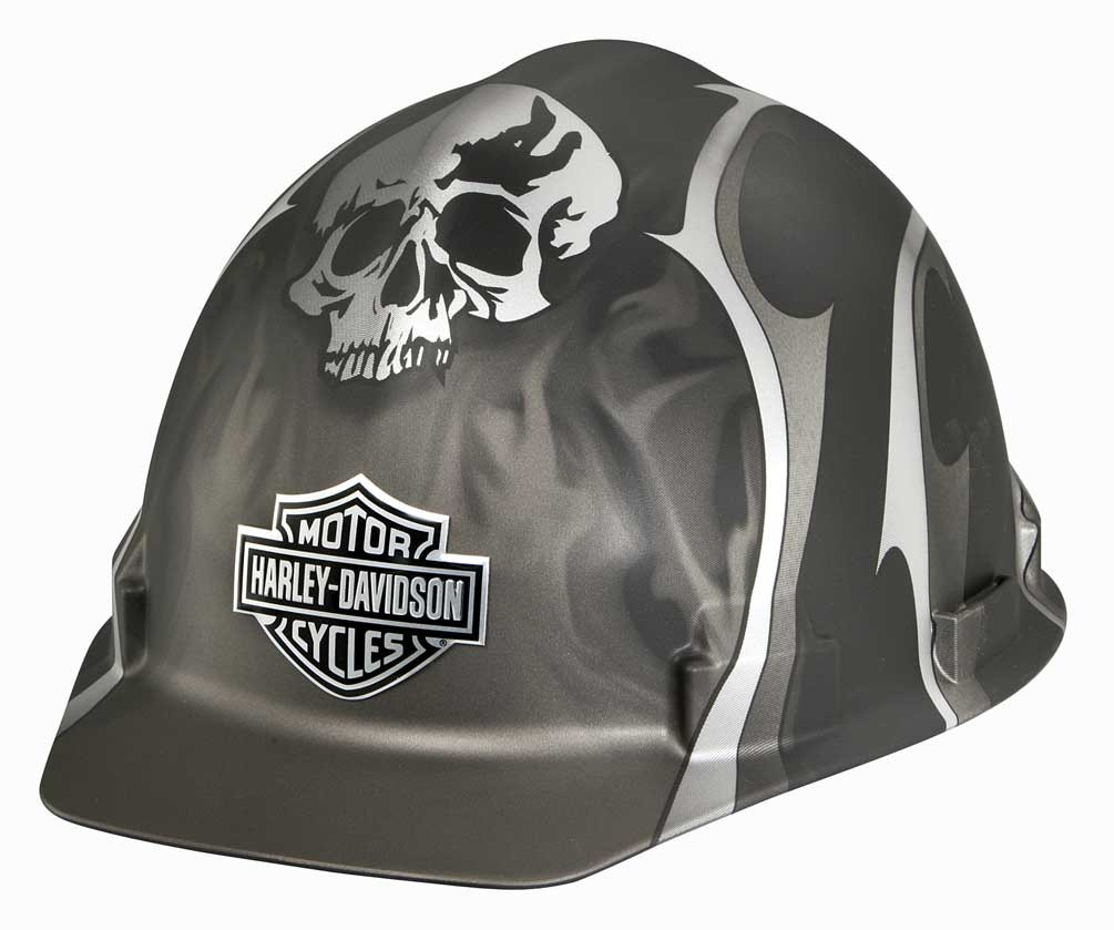Harley-Davidson® Skull Bar   Shield Safety Hard Hat 43db11f07f44