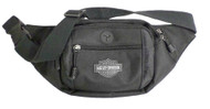 Harley-Davidson Bar & Shield Logo Crossbody / Waistpack Bag, Black BP2200S-BLACK - Wisconsin Harley-Davidson