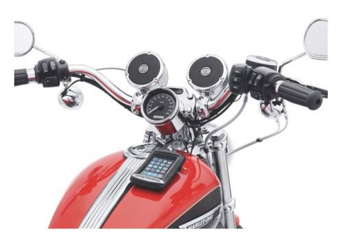 Harley-Davidson Boom! Audio Cruise Amp & Speaker Kit, Chrome Finish 76262-08A - Wisconsin Harley-Davidson