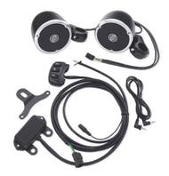 Harley-Davidson Boom! Audio Cruise Amp & Speaker Kit, Black Finish 76320-08A - Wisconsin Harley-Davidson