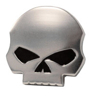 Harley-Davidson Antique Nickel Willie G Skull Medallion, 1.5 x 1.5 inch 14100228 - Wisconsin Harley-Davidson