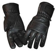 Redline Women's Winter Gloves w/ Kevlar Palms & Thinsulate Lining, Black GL-50 - Wisconsin Harley-Davidson