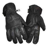 Redline Men's Winter Gloves w/ Kevlar Palms & Thinsulate Lining, Black G-050 - Wisconsin Harley-Davidson