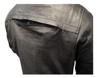 Redline Men's Distressed Leather Touring Motorcycle Jacket w/ Liner, Black M-600 - Wisconsin Harley-Davidson